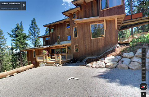 Jackson Hole Hideout - Google Street View Trusted
